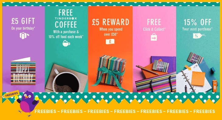 Free 5 Birthday Gift And Other Perks With The Paperchase Rewards